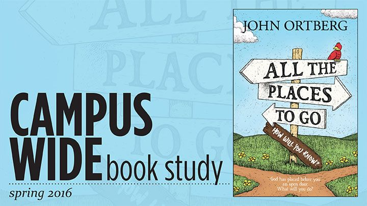 All the Places to Go Book study banner