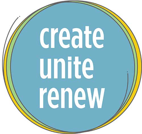 Create Unite Renew logo