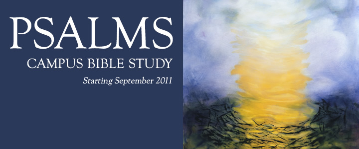 Psalms Bible study banner
