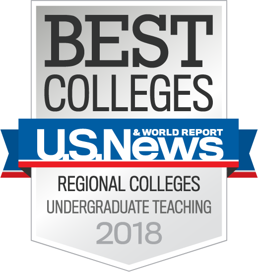 US News Badge - Best Colleges, Regional Colleges, Undergraduate Teaching