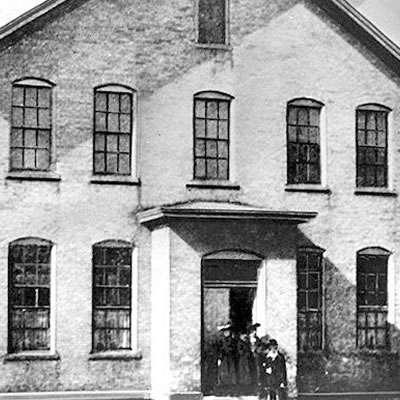 Old image of first building