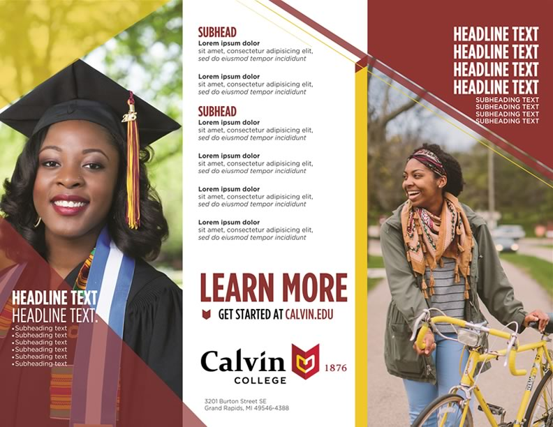 Publisher Templates  Tools Resources  Calvin College