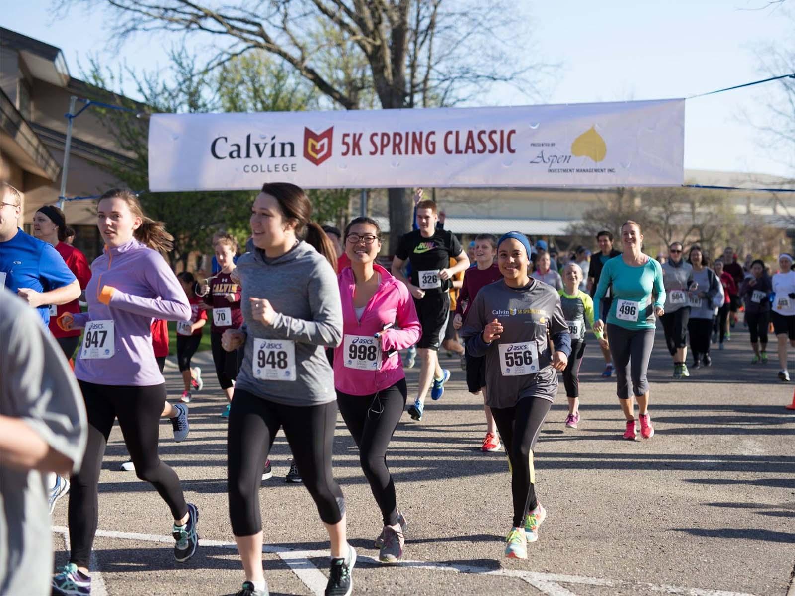 Calvin 5K Spring Classic - Events | Calvin College
