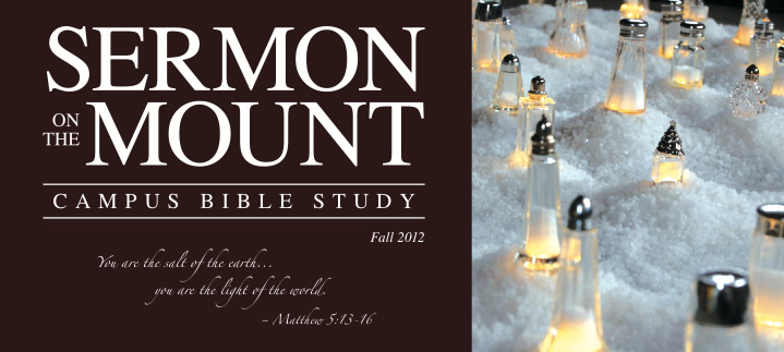 Sermon on the Mount Bible study banner