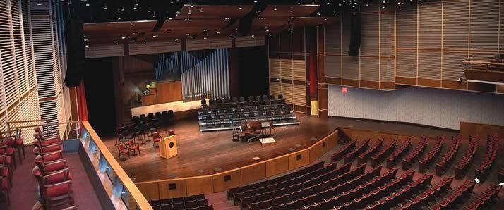 Covenant Fine Arts Center opens its doors. Auditorium renovation ... & Covenant Fine Arts Center opens its doors | Spark | The Calvin ...