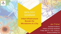 Urban Infrastructure Reveals the Microbiome of a City