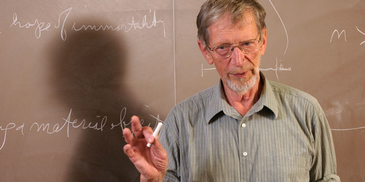 Legendary philosopher Alvin Plantinga is back teaching at Calvin.