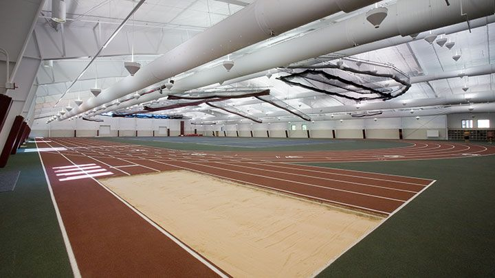 Indoor Track and Tennis Courts