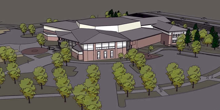 A plan for the Covenant Fine Arts Center