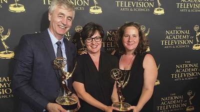 An Emmy helps the cause