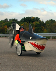 The shark bike